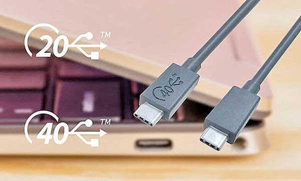 شکل - درگاه یو اس بی USB۴